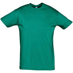 Textil Homem T-Shirt mangas curtas Sols REGENT COLORS MEN Verde
