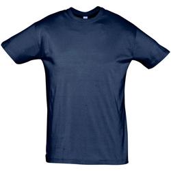 Textil Homem T-Shirt mangas curtas Sols REGENT COLORS MEN Azul