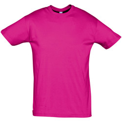 Textil Homem T-Shirt mangas curtas Sols REGENT COLORS MEN Violeta