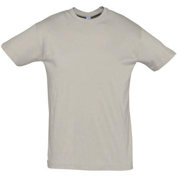 Textil Homem T-Shirt mangas curtas Sols REGENT COLORS MEN Gris