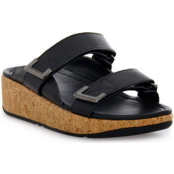 Sapatos Mulher Chinelos FitFlop FIT FLOP  REMI ADJUSTABLE SLIDES Nero