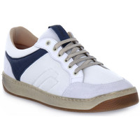 Sapatos Homem Sapatilhas Frau TECNO WHITE Bianco