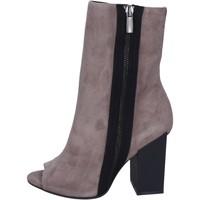 Sapatos Mulher Botins Marc Ellis BM22 Cinza