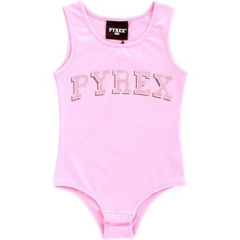 Textil Rapariga Tops sem mangas Pyrex 024858 Rosa