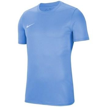Textil Homem T-Shirt mangas curtas Nike Park Vii Azul