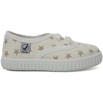 Sapatos Criança Sapatilhas Javer Zapatillas  60-48 Taupe Castanho