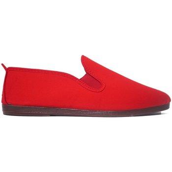Sapatos Homem Chinelos Javer Zapatillas Kunfú  55 Rojo Vermelho