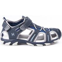 Sapatos Rapaz Sandálias desportivas Huran Sandalias Hurán 400120 Marino-Gris Azul
