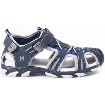 Sapatos Rapaz Sandálias desportivas Huran Sandalias  400120 Marino-Gris Azul