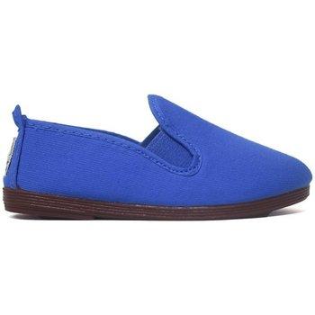 Sapatos Criança Pantufas bebé Javer Zapatillas Kunfú  55 Royal Azul