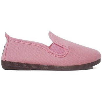 Sapatos Rapariga Pantufas bebé Javer Zapatillas Kunfú  55 Rosa Rosa