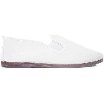 Sapatos Homem Slip on Javer Zapatillas Kunfú  55 Blanco Branco