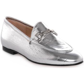 Sapatos Mulher Mocassins Priv Lab LAMINATO ARGENTO Grigio