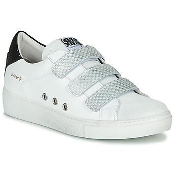 Sapatos Mulher Sapatilhas Semerdjian VIP Branco / Prata