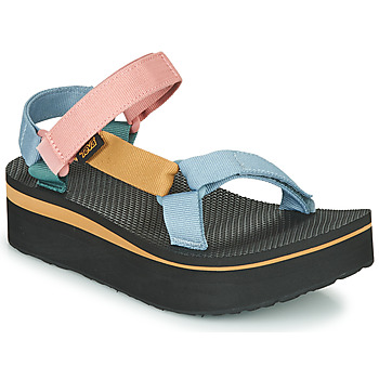 Sapatos Mulher Sandálias Teva FLATFORM UNIVERSAL Multicolor