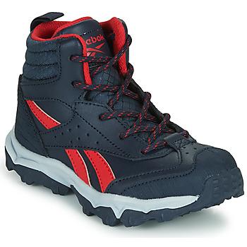 Sapatos Rapaz Sapatilhas Reebok Sport RUGGED RUNNER MID Preto / Vermelho