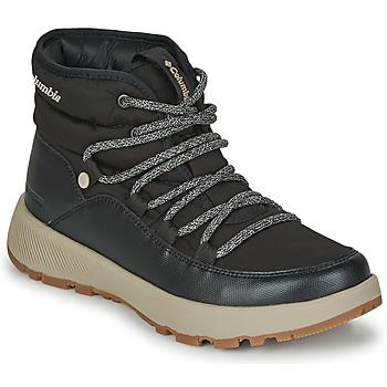 Sapatos Mulher Botas de neve Columbia SLOPESIDE VILLAGE OMNI HEAT MID Preto
