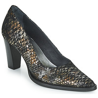 Sapatos Mulher Escarpim Myma KOLA Preto / Ouro