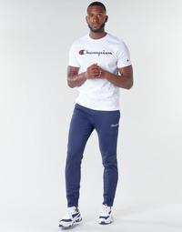 Textil Homem Calças de treino Champion HEAVY COMBED COTTON Marinho