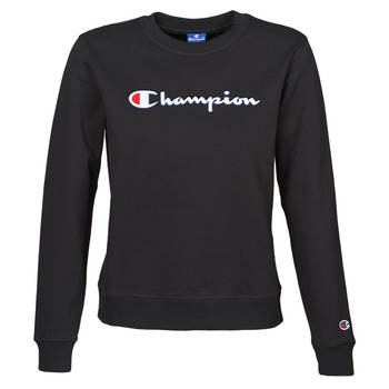 Textil Mulher Sweats Champion HEAVY COMBED COTTON FLEECE Preto