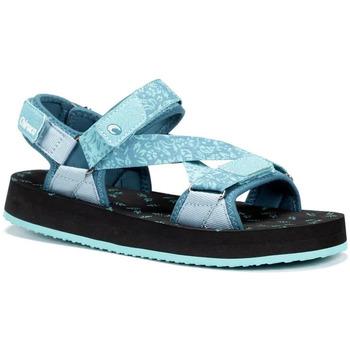 Sapatos Homem Sandálias Chiruca Sandalias  Madeira 11 Azul