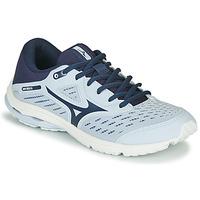 Sapatos Rapariga Sapatilhas de corrida Mizuno WAVE RIDER JR Azul