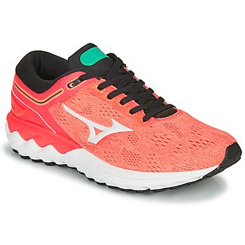 Sapatos Mulher Sapatilhas de corrida Mizuno WAVE SKY RISE Coral