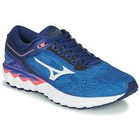 Sapatos Homem Sapatilhas de corrida Mizuno WAVE SKY RISE Azul