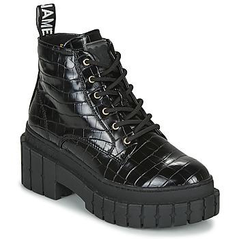 Sapatos Mulher Botas baixas No Name KROSS LOW BOOTS Preto