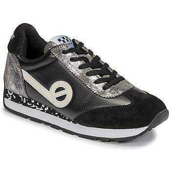 Sapatos Mulher Sapatilhas No Name CITY RUN JOGGER Preto / Branco