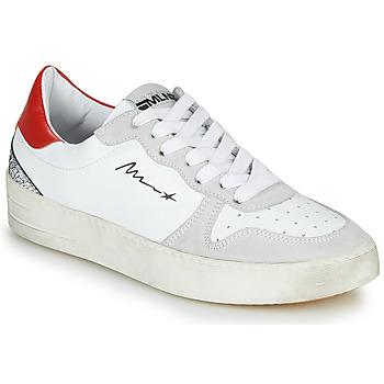 Sapatos Mulher Sapatilhas Meline STRA5007 Branco / Vermelho