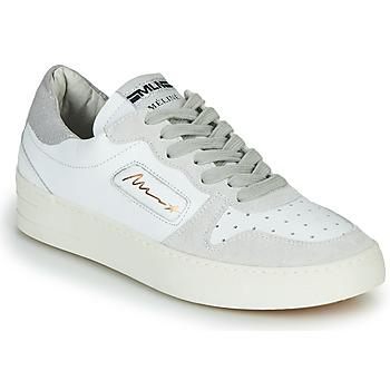 Sapatos Mulher Sapatilhas Meline STRA-A-1060 Branco / Bege