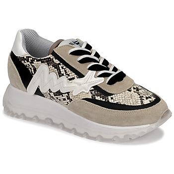 Sapatos Mulher Sapatilhas de cano-alto Meline TRO1700 Bege