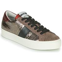 Sapatos Mulher Sapatilhas Meline PL1810 Bronze / Vermelho