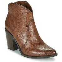 Sapatos Mulher Botins MTNG 50187-C50166 Castanho