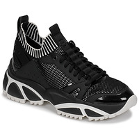 Sapatos Homem Sapatilhas MICHAEL Michael Kors LUCAS Preto / Branco
