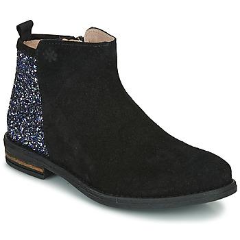 Sapatos Rapariga Botas baixas Acebo's 8035-NEGRO-T Preto