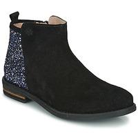 Sapatos Rapariga Botas baixas Acebo's 8035-NEGRO-J Preto