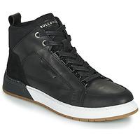 Sapatos Rapaz Sapatilhas de cano-alto Bullboxer AOF500E6L-BLCK Preto