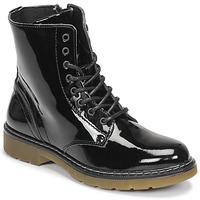 Sapatos Rapariga Botas baixas Bullboxer  Preto