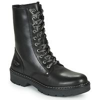 Sapatos Rapariga Botas baixas Bullboxer AON523E6L-BKGY Preto
