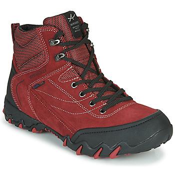 Sapatos Mulher Sapatos de caminhada Allrounder by Mephisto NIGATA-TEX Vermelho