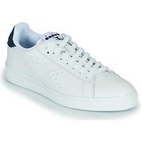 Sapatos Sapatilhas Diadora GAME L LOW OPTICAL Branco / Azul