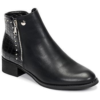 Sapatos Mulher Botas baixas Les Petites Bombes ALINE Preto
