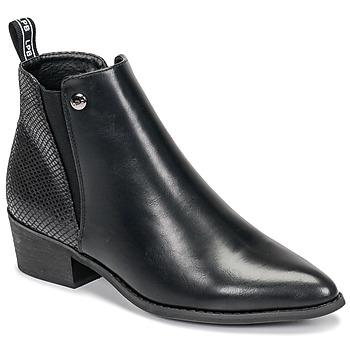 Sapatos Mulher Botas baixas Les Petites Bombes ANTONELLA Preto