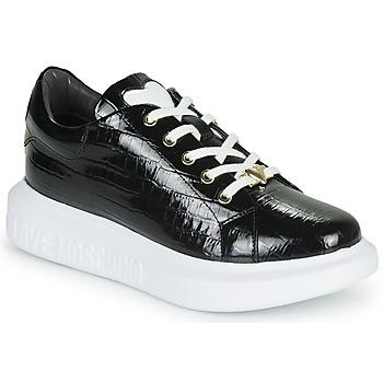 Sapatos Mulher Sapatilhas Love Moschino JA15494G0B Preto