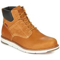 Sapatos Homem Botas baixas Levi's JAX PLUS Castanho