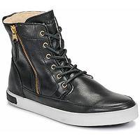 Sapatos Mulher Sapatilhas de cano-alto Blackstone CW96 Preto