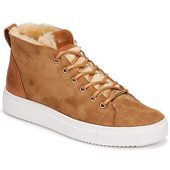 Sapatos Mulher Sapatilhas de cano-alto Blackstone QL48 Castanho