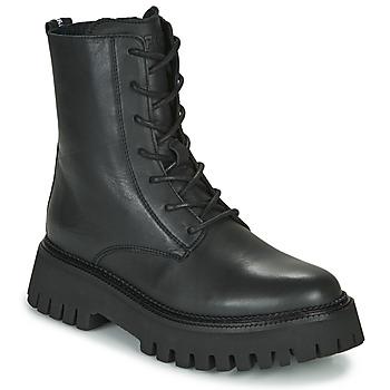 Sapatos Mulher Botas baixas Bronx GROOV Y Preto
